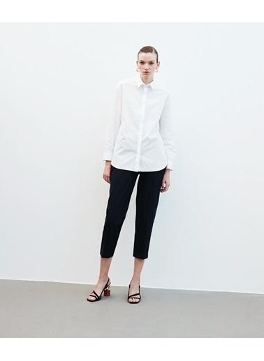 Ipekyol Kadın  Gömlek IW6200025224002 Beyaz